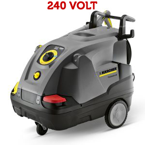 Hot water pressure washer 240 volt